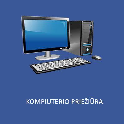 kompiuterio prieziura