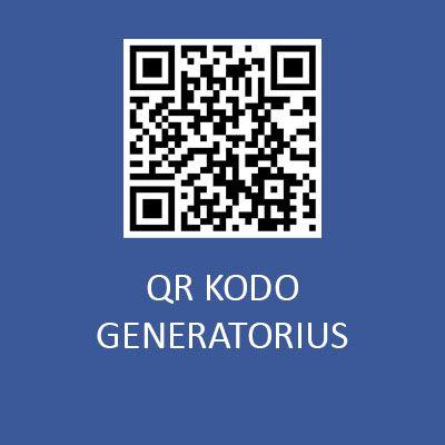 qr kodo generatorius