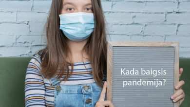 kada baigsis pandemija
