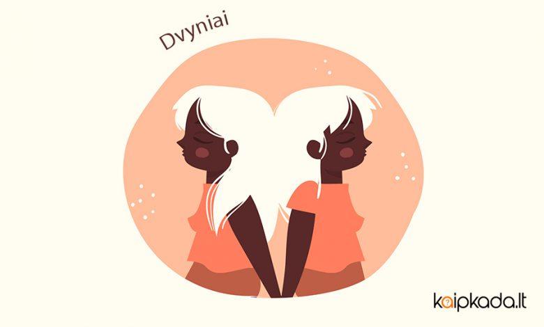 Dvyniai zodiako ženklas