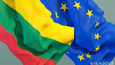 Kada Lietuva istojo i ES Europos Sajunga