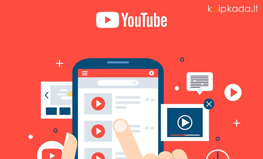 Kaip parsisiusti muzika arba video is Youtube