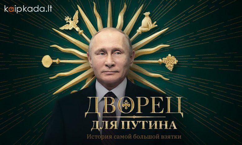 Navalno filmas apie Putina ir jo turtus