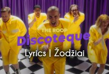 The Roop Discotheque lyrics zodziai