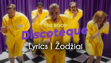 The Roop Discotheque lyrics zodziai