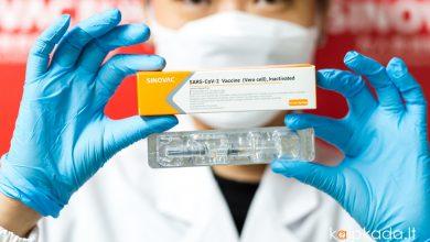 Turkija pradeda skiepyti kinu vakcina Sinovac