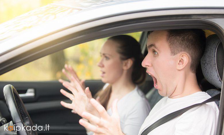 Vairuotojo pazymejimo egzaminas islaikytas is 158 karto