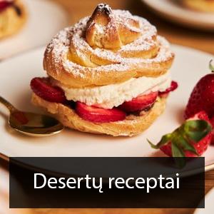 desertu receptai