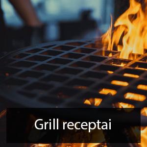 grill kamado receptai