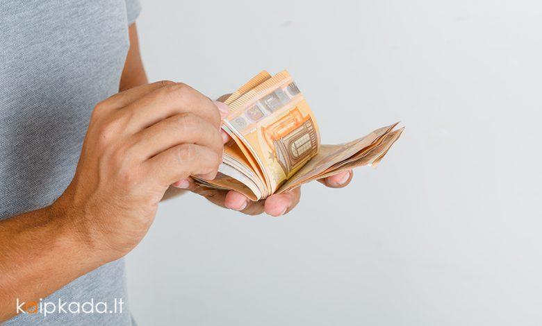 kaip deklaruoti pajamas 2021