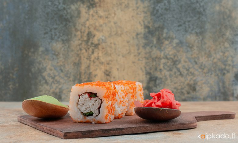 Kaip gaminti sushi arba kitaip suši