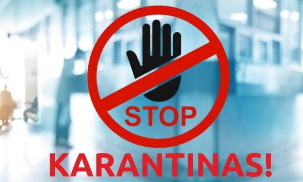 karantinas stop