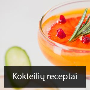 kokteiliu receptai