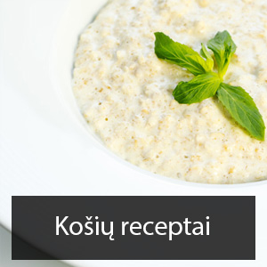 kosiu receptai
