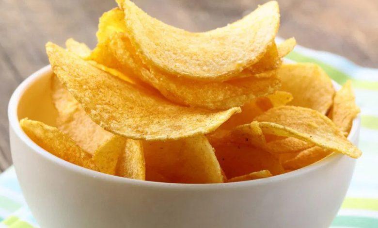 Naminiai bulvių traškučiai (home made chips)