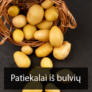 patiekalai is bulviu