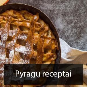 pyragu receptai
