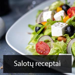 salotu receptai