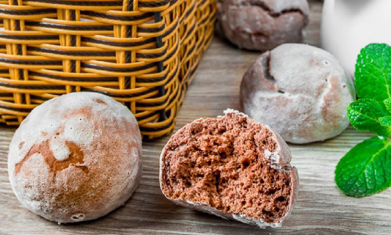 Skanių kakavinių meduolių receptas