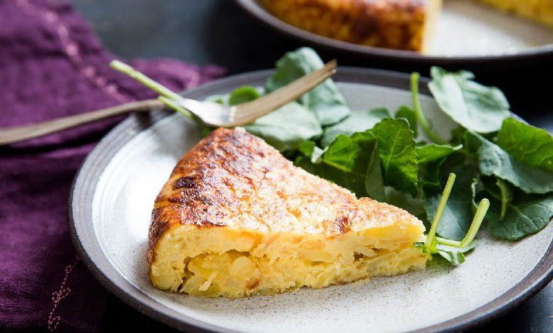 Traškus ir skanus bulvių omletas