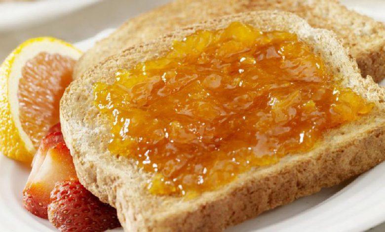 Skrebučiai su abrikosų džemu