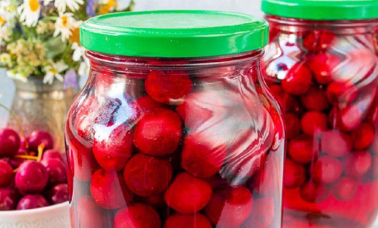 Vyšnių kompotas - Kaip pas mamą!