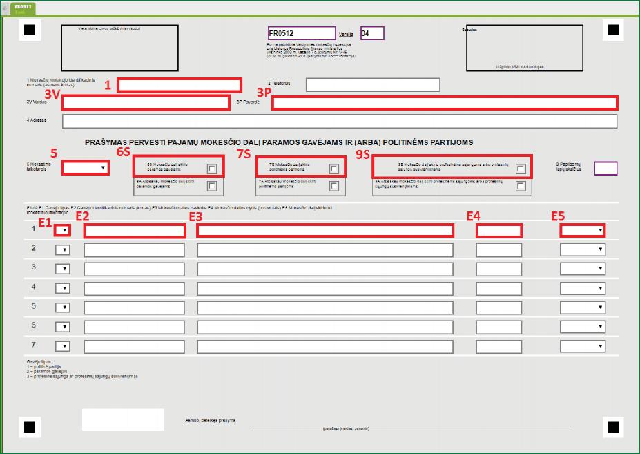 5 EDS forma GPM 2 proc min