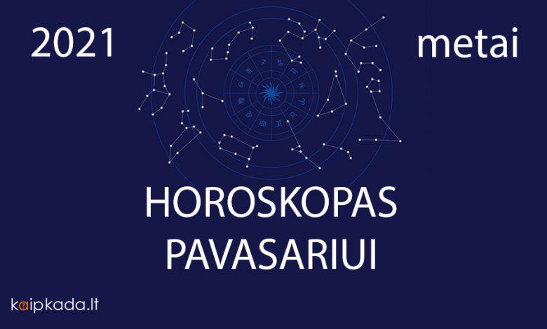 horoskopas pavasariui 2021