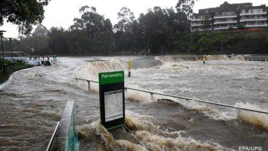 Australija potvynis
