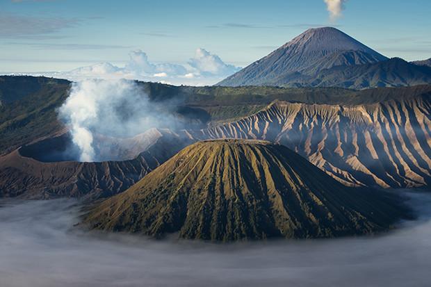 Ugningasis Merapi kalnas Indonezijoje