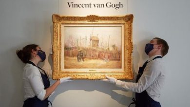 Vincento Van Gogo paveikslas