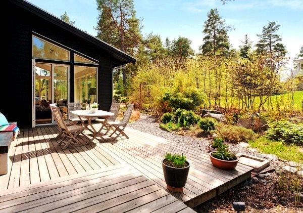 Skandinavisko stiliaus sodo apzeldinimas 3