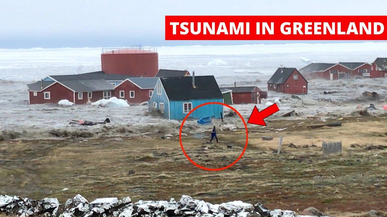 cunamis grenlandijoje