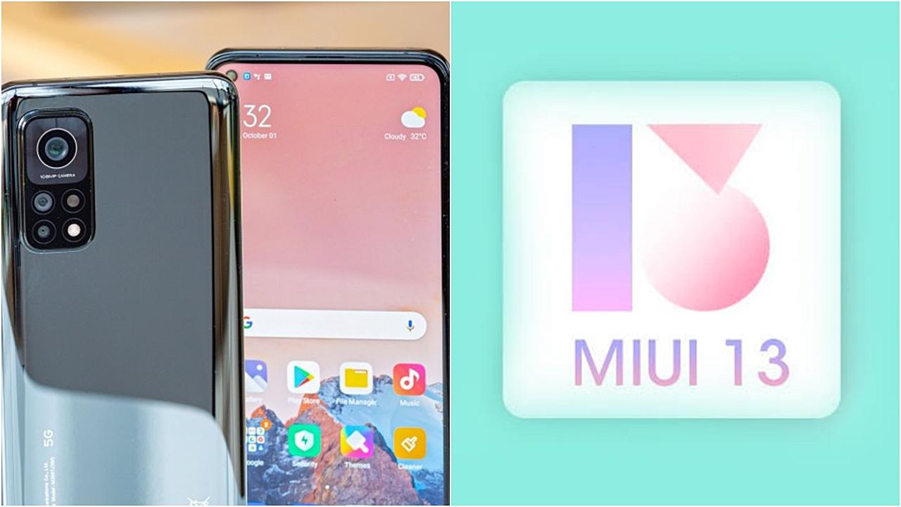 Naujausia Xiaomi MIUI 13 versija