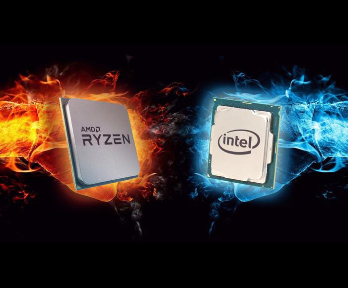 Intel ir AMD procesoriai