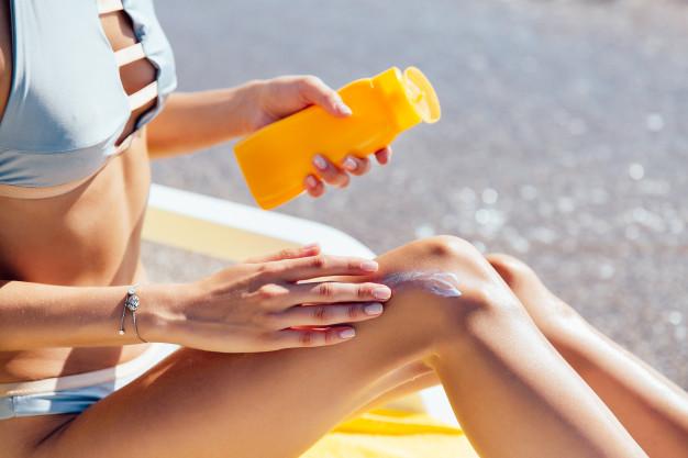 Degintis reikia atsakingai: Naudokite krema nuo saules