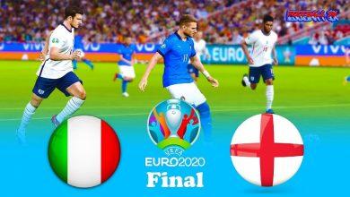 Italija pries Anglija Finalas UEFA EURO 2020