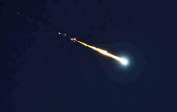 Meteoritas praskriejo virs Norvegijos vaizdo irasas